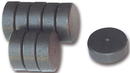 MAG601 FERRITE DISC MAGNETS 20MMX5MM PK10