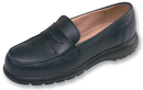 6551140-37/7 T TATION 140 LTHR LOAFER NAVY 4