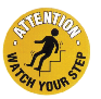 FM15 WATCH YOUR STEP MARKER 430MM