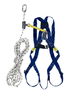 1011895 TITAN ROOFERS KIT, 2-P OINT HARNESS AND 10M ROPE WITH