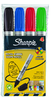 S0945760 SHARPIE PRO CONICA PE QUENA ASSORTED MONEDERO X 4